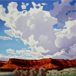 <b>SOLD</b>CLOUDS OVER TEASDALE