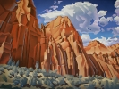 <b>SOLD</b>Zion, 36 x 48, Oil on Canvas by David Jonason at a Scottsdale art gallery