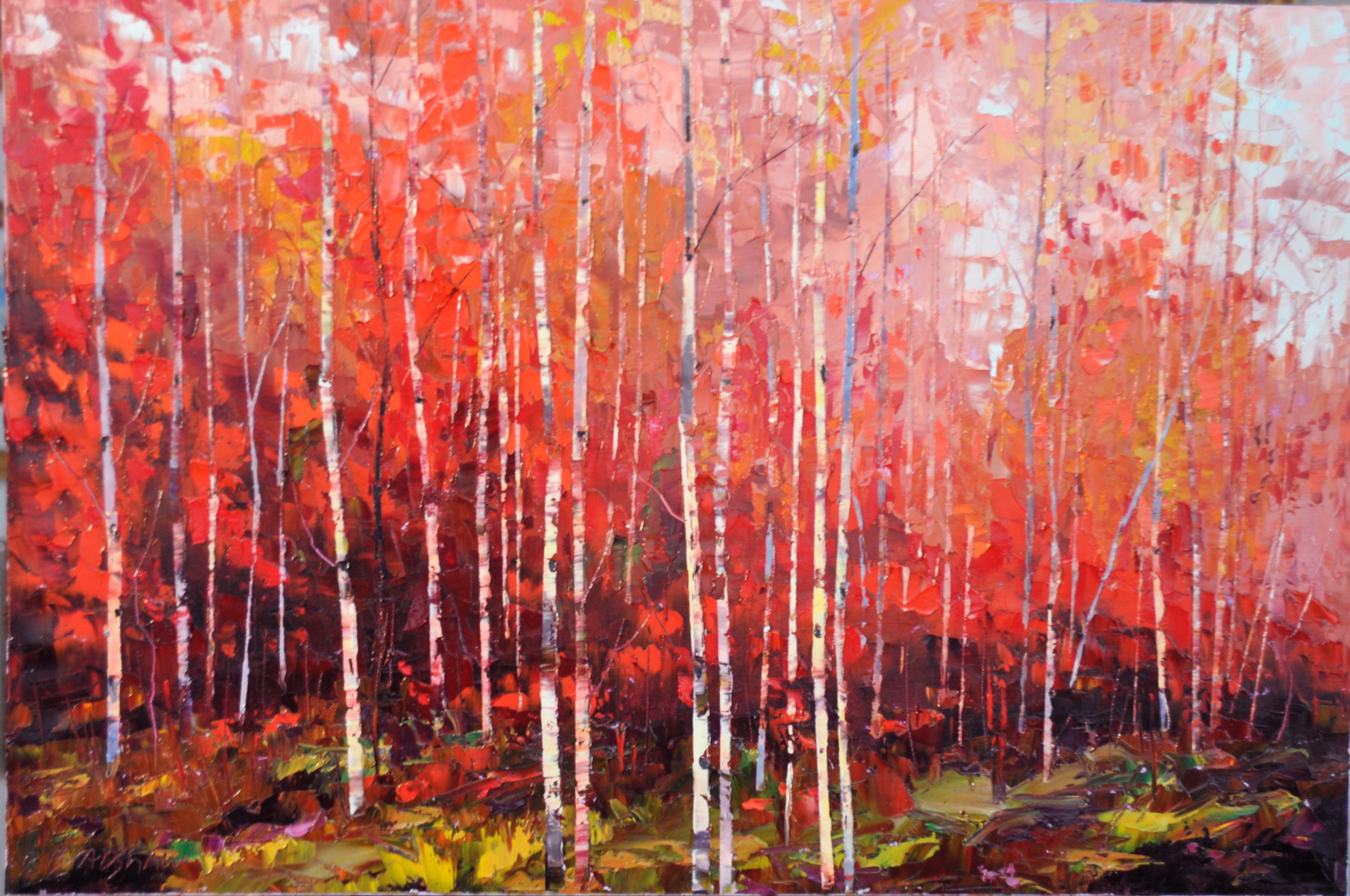 Dean Bradshaw Oil Paintings At A Scottsdale Art Gallery