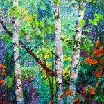 SOLD Forest Glade, 20x16, oil