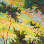 SOLDPoint Lobos Pacific Glory II, 32 x 14, oil on canvas