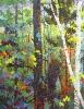 SOLD Early Fall Evening, 46x36 oil on canvas by Frank Balaam at a Scottsdale gallery