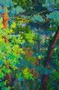 SOLD  Forest Waters, 72 x 48, Oil on Canvas, by Frank Balaam at a Scottsdale art gallery