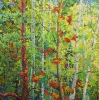 <b>SOLD</b> From Dawn Until Dusk, 72 x 72, Oil on Canvas, by Frank Balaam at a Scottsdale art gallery