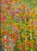 SOLD Gem: Birches and Maples, oil on canvas by Frank Balaam at a Scottsdale art gallery