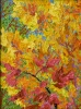SOLD Gem: Flamboyant Fall, oil on canvas by Frank Balaam at a Scottsdale art gallery