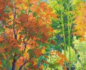 Wealth of Autumn, oil on canvas by Frank Balaam at a Scottsdale art gallery