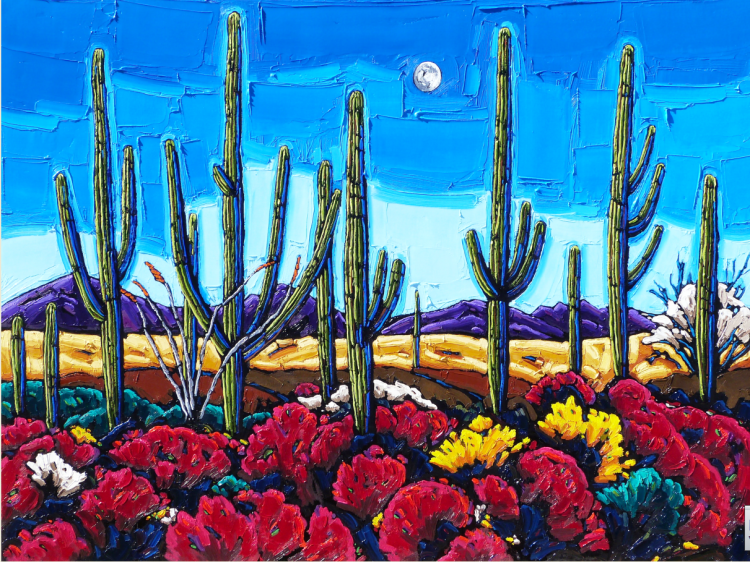Neil Myers Oil Paintings At A Scottsdale Art Gallery On