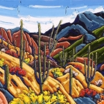 SOLD Romero Canyon 30x48 oil