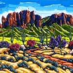<b>SOLD</b>Superstition Majesty 36 x 48 2015