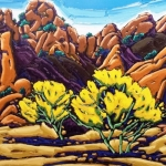 Texas Canyon Arizona, 24x36
