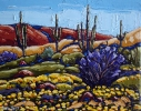- SOLD - Arizona Spring, oil on canvas by Neil Myers at a Scottsdale art gallery