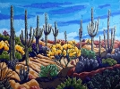 - SOLD - Arizona the Beautiful, 36 x 48, oil on canvas by Neil Myers at a Scottsdale art gallery