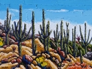 <b>SOLD</b>Hilltop Sentinels, 18 x 24, Oil on Canvas by Neil Myers at a Scottsdale art gallery