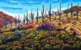 SOLD The Symphony of Spring, 30 x 48, oil on canvas by Neil Myers at a Scottsdale art gallery
