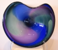 Wave Bowl, blown glass at a Scottsdale art gallery