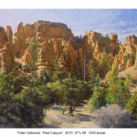 Red Canyon 2010, 27 x 40
