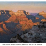 Wotan's Throne from Mather Point 18x24