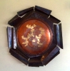 Geocentric, 36 inch wall plate by Thomas Markusen at a Scottsdale art gallery