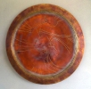 Heliocentric, 36 inch wall plate by Thomas Markusen at a Scottsdale art gallery