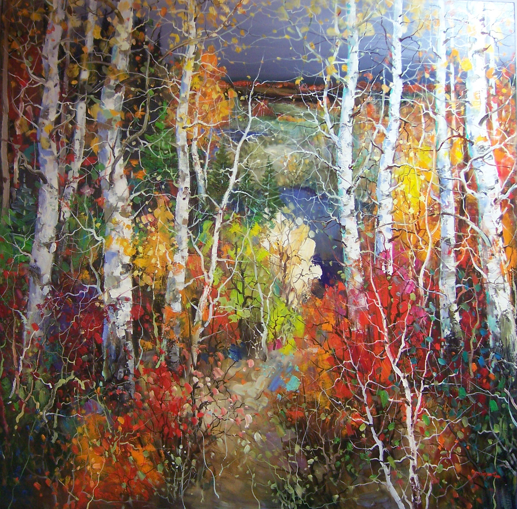 Tinyan Chan Oil Paintings at a Scottsdale Art Gallery on Main ...