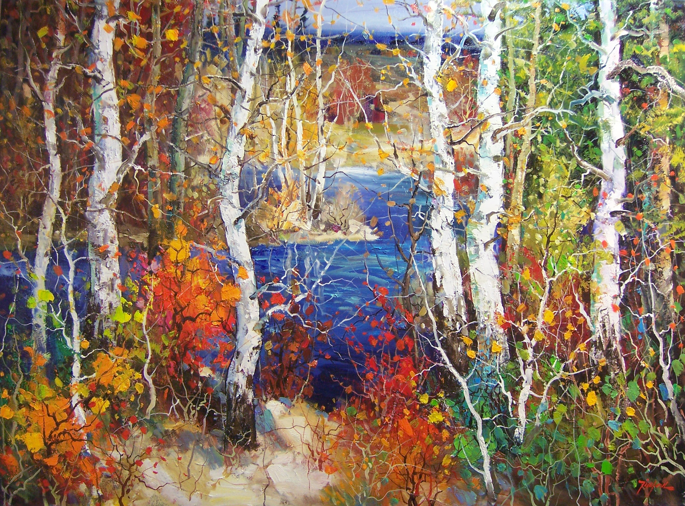 ... at a Scottsdale Art Gallery on Main | The Marshall Gallery of Fine Art