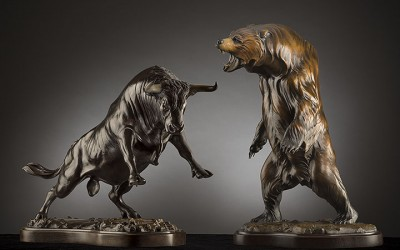 "Bull & Bear Market  ""The Fight"""