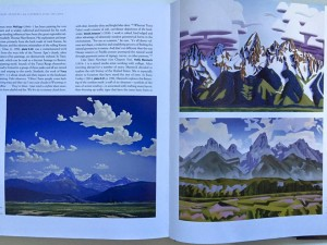 "David Jonason, cubist southwestern oil painter, has a work titled ""Teton Spring"" in the new book called PAINTERS OF GRAND NATIONAL TETON PARK, available on Amazon."