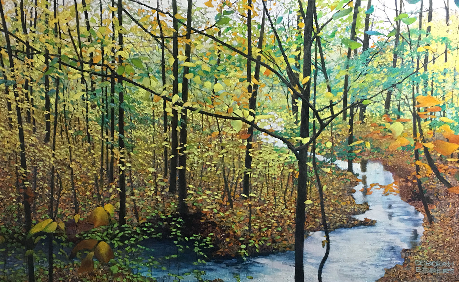 Little creek oil on canvas 30 x 48 web 1 - Home