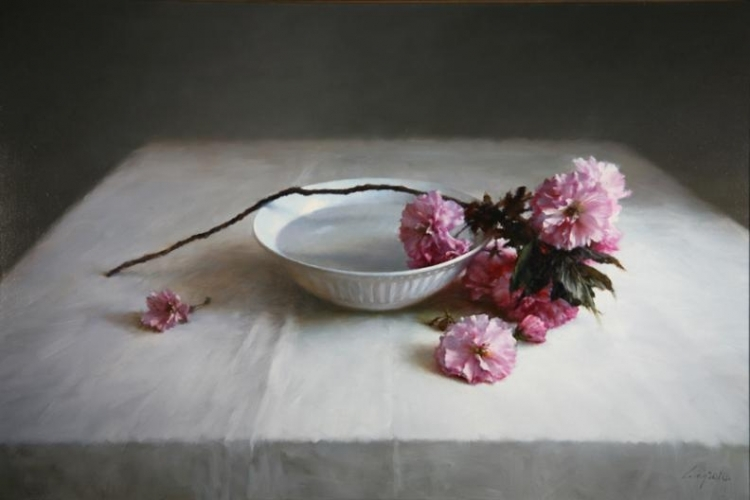 NL CherryBlossomsinWater 24x36 - Artists